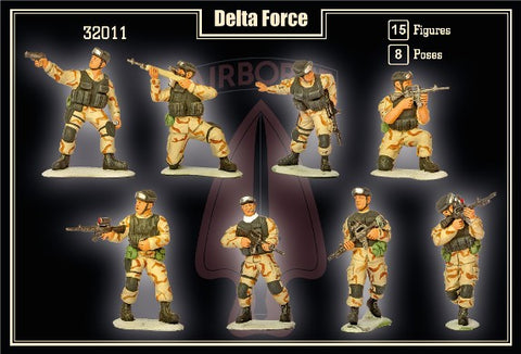Mars Military 1/32 Delta Force (15) Kit
