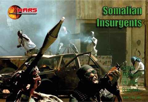 Mars Military 1/32 Somalian Insurgents (15)