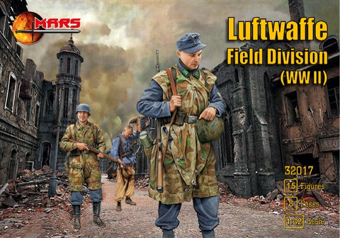 Mars Military 1/32 WWII Luftwaffe Field Division (15) Kit