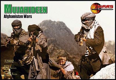 Mars Military 1/72 Afghanistan War Mujahideen Warriors (40) Kit