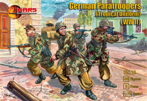 Mars 1/72 WWII German Paratrooper Tropical Uniform (40)