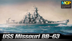 Academy Ships 1/700 USS Missouri BB63 Mighty Mo Battleship Kit