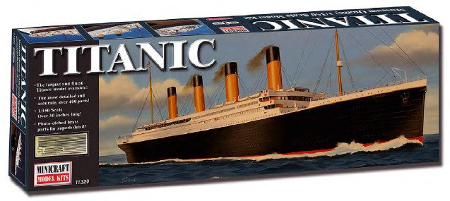 Minicraft 1/350 RMS Titanic Ocean Liner Deluxe Edition w/Photo-Etch Kit