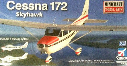 Minicraft Model Aircraft 1/48 Cessna 172 Skyhawk Aircraft Kit