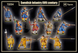 Mars Military 1/72 XVII Century (Early) Swedish Infantry (48) Kit