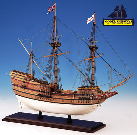 Model Shipways 1/60 Mayflower 1620 Wooden/Metal Kit