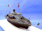 Cottage Industry Ships 1/96 CSS Palmetto State Confederate Ironclad Warship Resin Kit