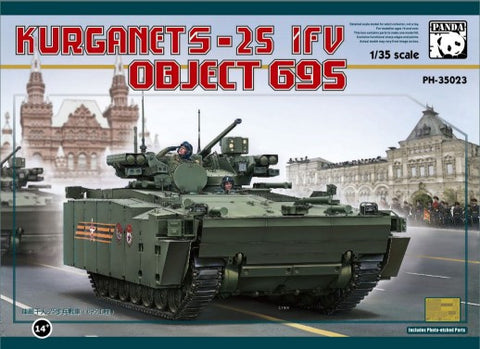 Panda Hobby Military 1/35 Kurganet-25 IFV Object 695 Russian Infantry Fighting Vehicle (New Tool) Kit