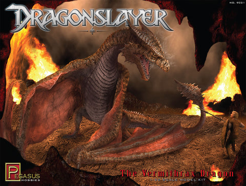 Pegasus Sci-Fi 1/32 Dragonslayer: Vermithrax Dragon Kit