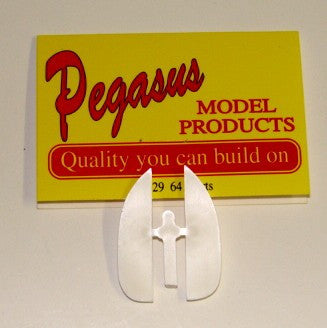 Pegasus Hobbies Cars 1/24-1/25 1964 Chevy Impala Skirts (Resin)