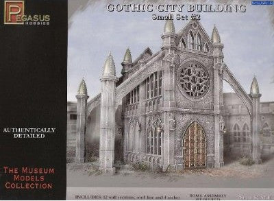 Pegasus Military 28mm Gothic City Building Small Set #2