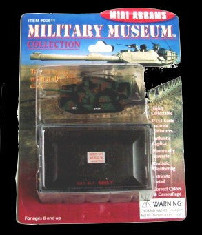 Pegasus Military 1/144 M1A1 Abrams USMC NATO Camouflage Tank (Assembled)