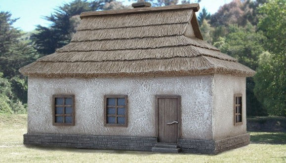 Pegasus Military 1/72 Ukrainian House #1 (Cast Polystone Painted)