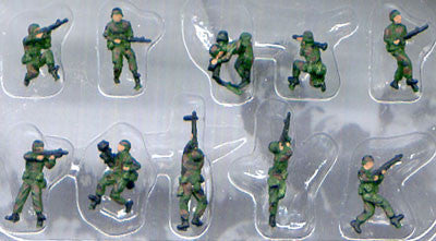 Pegasus Military 1/144 Modern American Infantry NATO (10) (Painted)
