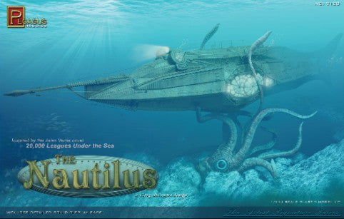 Pegasus Sci-Fi 1/144 20,000 Leagues Under the Sea: The Nautilus Submarine Kit