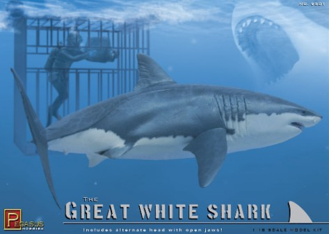 Pegasus Sci-Fi 1/18 The Great White Shark Kit