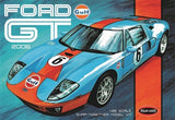 Polar Lights Model Cars 1/25 2006 Ford GT Gulf Heritage Race Car Kit