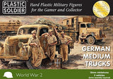 Plastic Soldier 15mm WWII German Medium Trucks (5) Kit