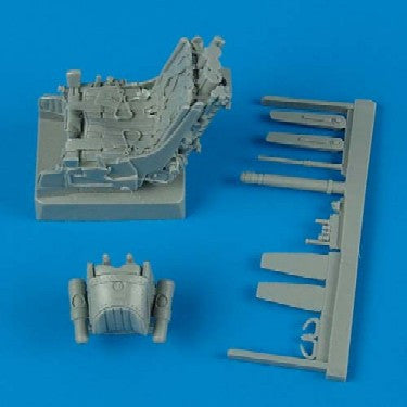 Quickboost Details 1/32 MiG29A Ejection Seat w/Safety Belts