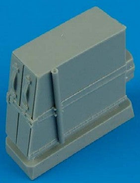 Quickboost Details 1/32 Bf109E Ammunition Boxes for EDU