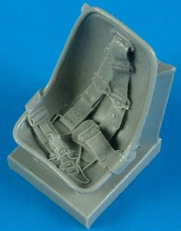 Quickboost Details 1/32 Bf109E Seat w/Safety Belts