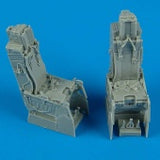 Quickboost Details 1/48 F15D Ejection Seats w/Safety Belts (2)