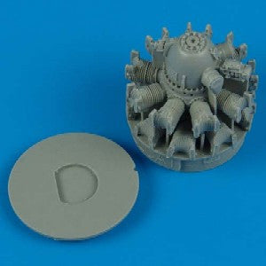 Quickboost Details 1/48 F6F3 Engine for EDU