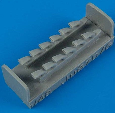 Quickboost Details 1/48 Ju87D/G Stuka Exhaust for HSG