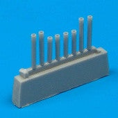 Quickboost Details 1/72 A26K Gun Barrels for ITA