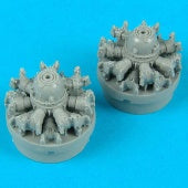 Quickboost Details 1/72 DC3/C47 Engines for ITA
