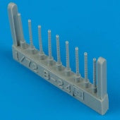 Quickboost Details 1/72 B24D Gun Barrels for HSG