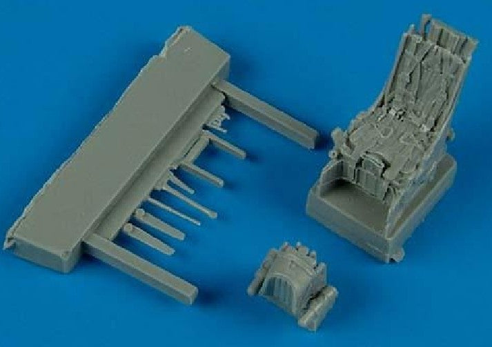 Quickboost Details 1/72 Su27 Ejection Seat w/Safety Belts