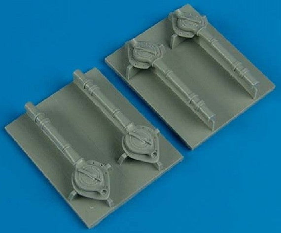 Quickboost Details 1/72 B24 Turbo-Supercharger for MMI