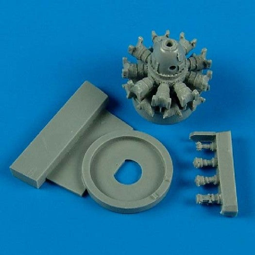 Quickboost Details 1/72 F6F Engine for EDU