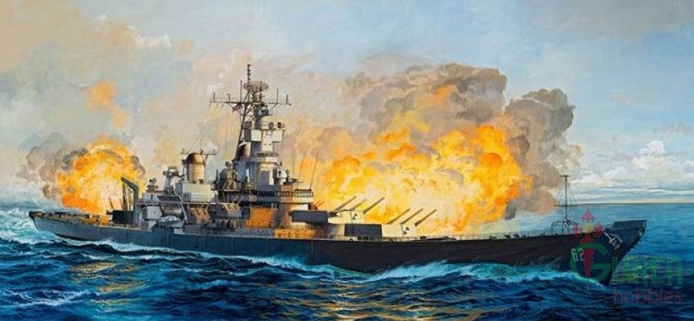 Revell Germany Ship Models 1/350 USS New Jersey Battleship 1982 Premium Edition Kit