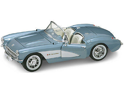 Road Legends 1/18 1957 Corvette Convertible (Met. Blue)