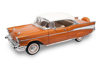 Road Legends 1/18 1957 Chevrolet Bel Air Hardtop (Gold)