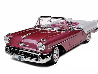 Road Legends 1/18 1957 Oldsmobile Super 88 Convertible (Met. Purple)