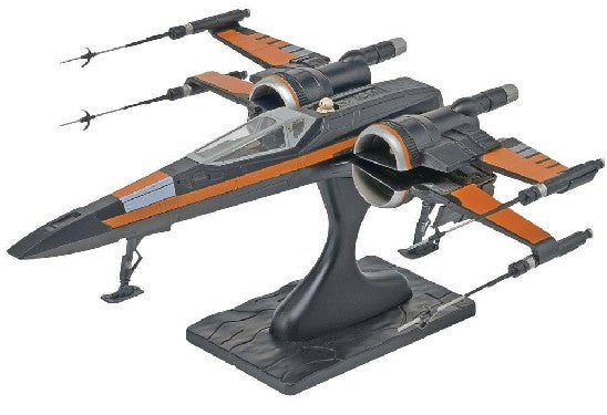 Revell-Monogram Sci-Fi Star Wars The Force Awakens: Poe's X-Wing Fighter Snap Max kIT