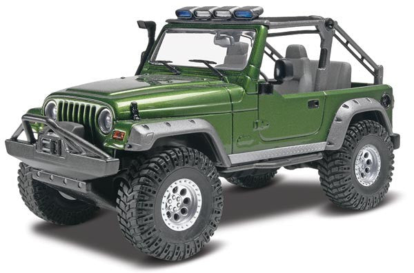 Revell-Monogram Model Cars 1/25 Jeep Wrangler Rubicon Kit