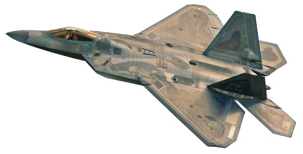 Revell-Monogram Aircraft 1/72 F22 Gound Attack Aircraft Kit