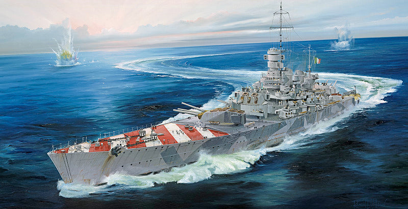 Trumpeter Ship Models 1/700 RN Roma Italian Navy Battleship 1943 Kit