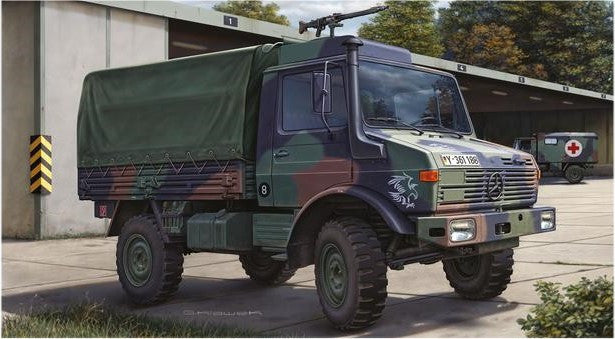 Revell Germany Military 1/35 LKW 2t tmil gl (Unimog) Truck Kit