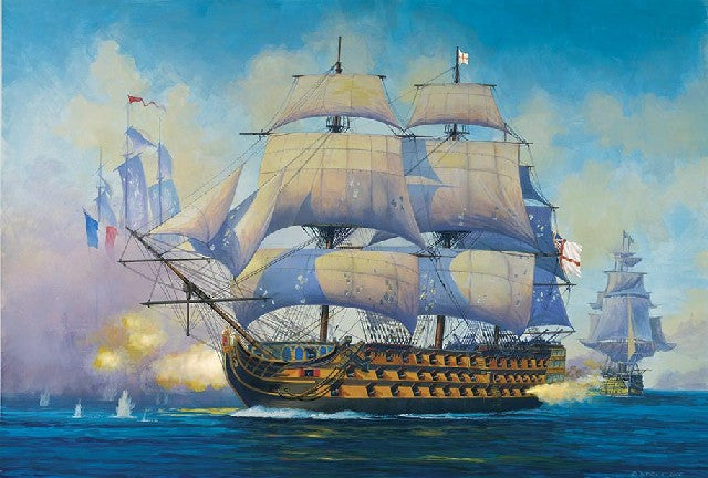Revell Germany Ship Models 1/450 HMS Admiral Nelson Victory Flagship Kit