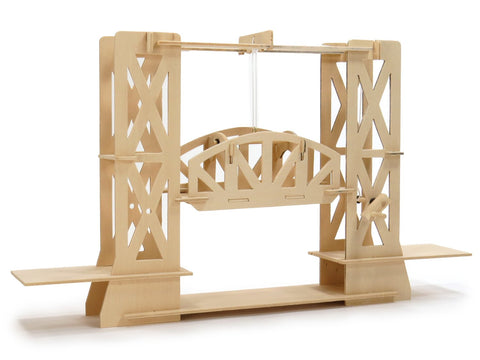 Pathfinders Truss Design Moving Lift Bridge Wooden Kit