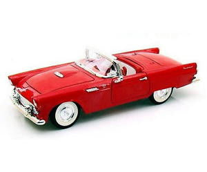 Road Legends 1/18 1955 Ford Thunderbird Convertible (Red)