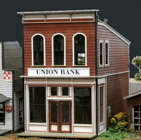 Banta Modelworks HO Union Bank Kit