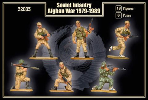 Mars Military 1/32 Soviet Infantry Afghan War 1979-1989 (18) Kit