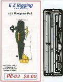 Starfighter Decals 1/72 E-Z Rigging: P6E BiPlane for RMX/OLI (Stainless Steel Photo-Etch)
