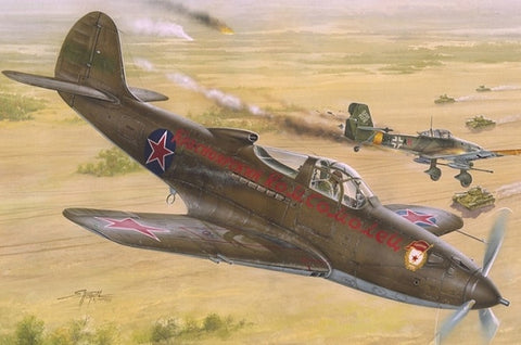 Special Hobby Aircraft 1/32 P39N/Q Soviet Guards Regiments Fighter Kit